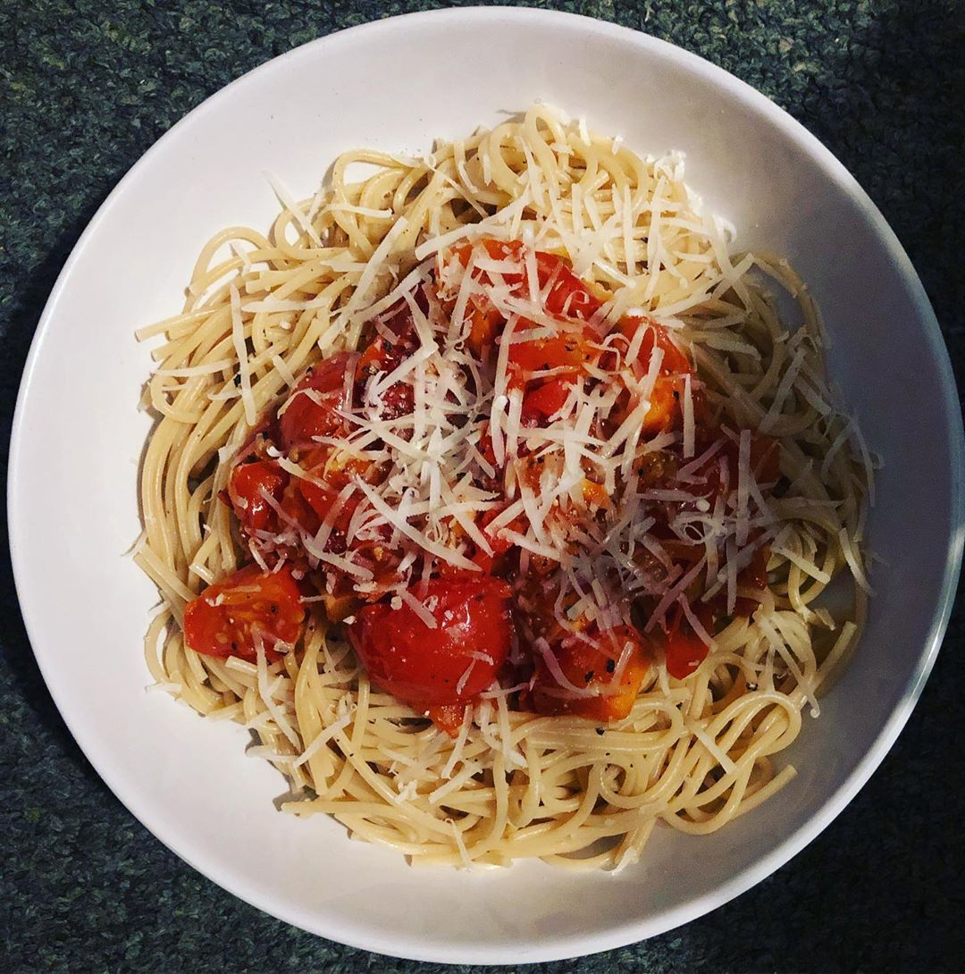 PASTA DISH #keeplean #fitfam #exercise #fitness #eathealthy #foodie #balan...