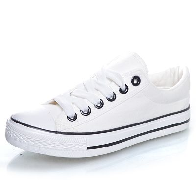 wholesale cheap white casual shoes flat low to help