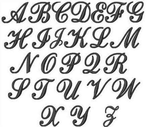 Pin By Alexis Baez On Arte Alphabet Fonts Lettering