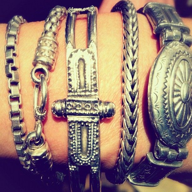 My mum has her bracelets stacked to perfection! - @Matty Chuah Native State- #webstagram