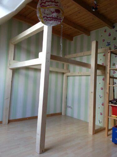 Treppe Für Hochbett hochbett balken für die treppe hochbett kinderzimmer