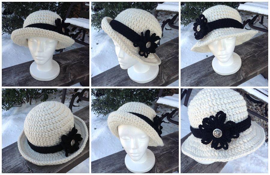 Versatile Bowler Hat   Crafts   Pinterest   Gorros, Tejido y Ganchillo