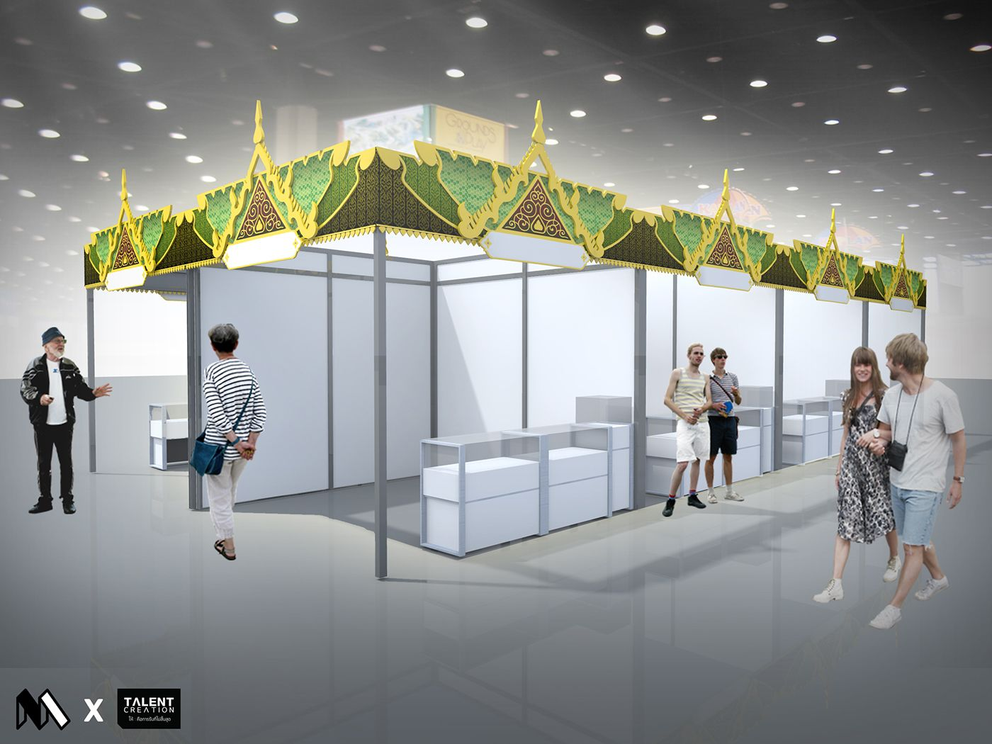 Thailand Pavilion Event Project China On Behance พาว ลเล ยน