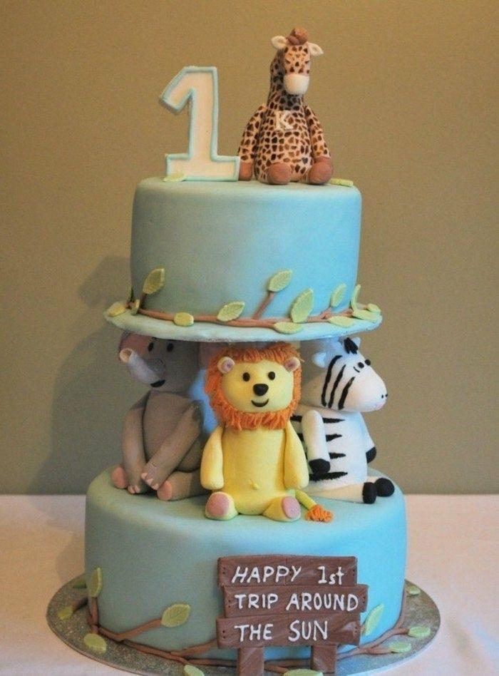 1001 Ideen Fur Motivtorten Selber Machen Und Freude Bereiten Kuchen Baby Geburtstag 1 Geburtstagskuchen Geburtstagskuchen Fur Jungen