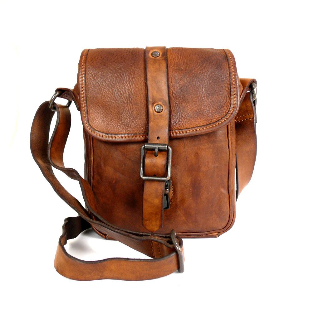 66f12aed4819 Small Crossbody Bag in Washed Leather