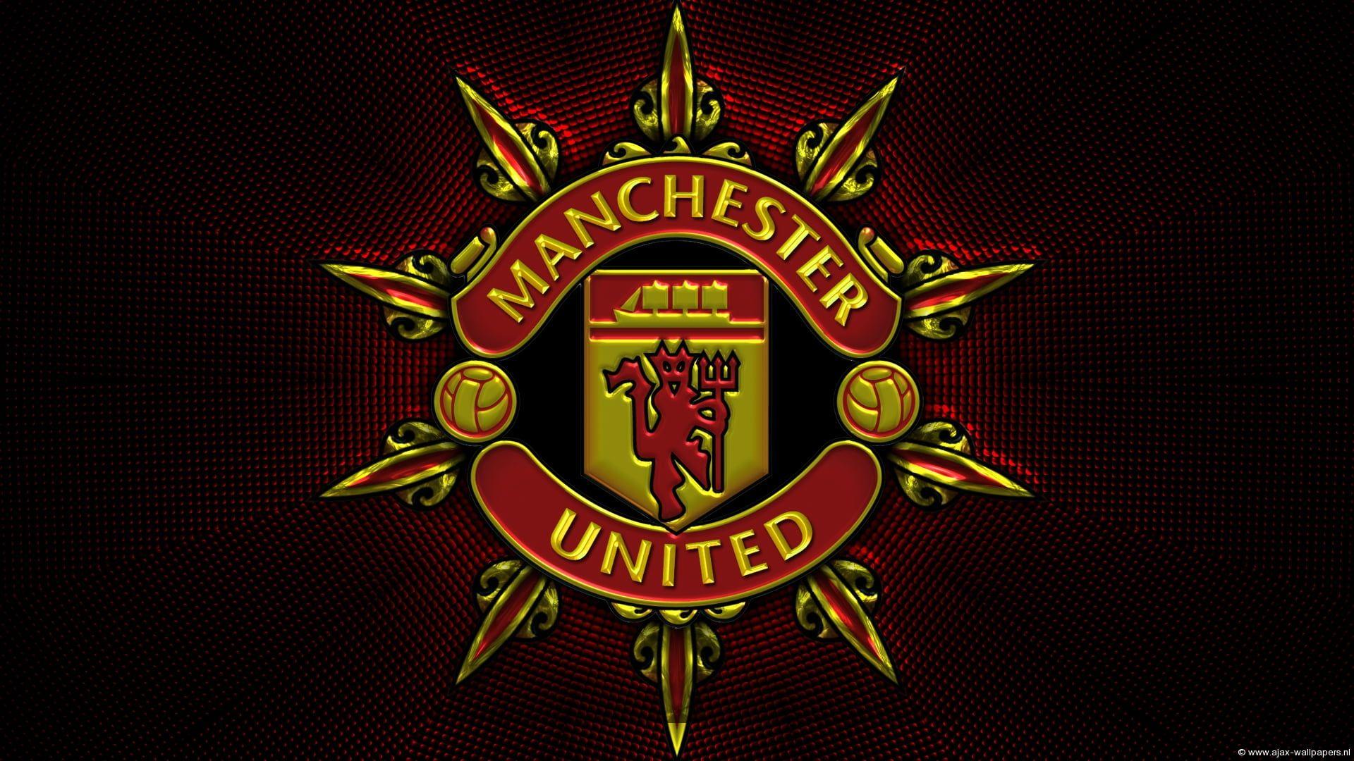 Soccer Manchester United F C Emblem Logo 1080p Wallpaper Hdwallpaper Desktop Manchester United Ryan Giggs Sepak Bola