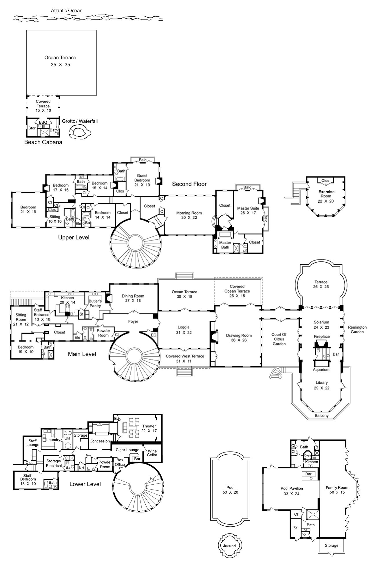 Image From Http Www Deginan Com Wp Content Uploads 6 6 Floor Plans For Castles Mansions Floor Plans For Man Mansion Floor Plan Luxury House Plans Floor Plans