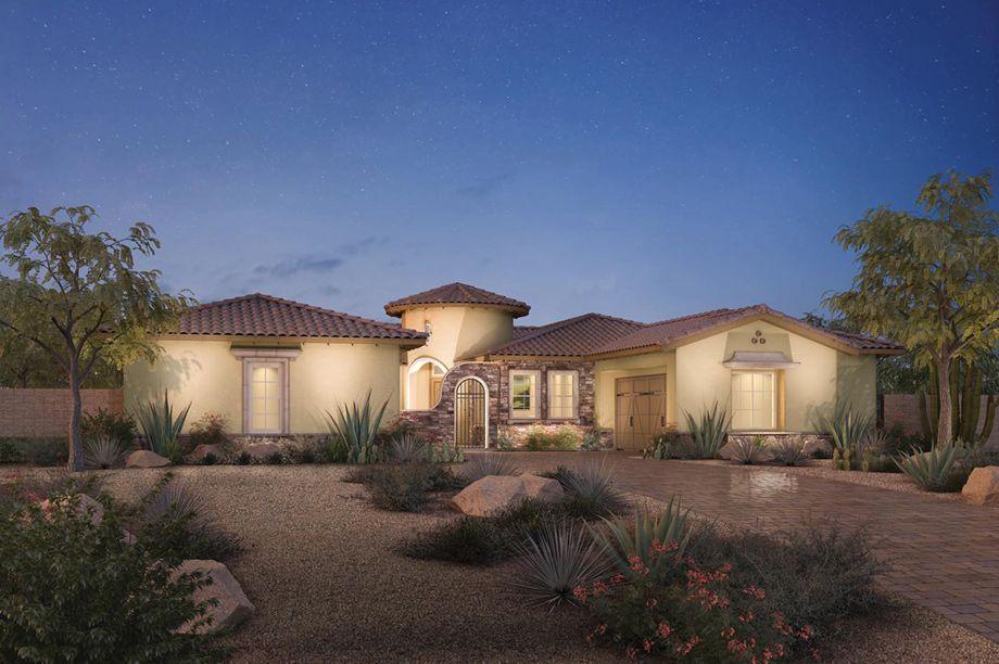 Los Altos Tollbro Floorplan New Homes Las Vegas