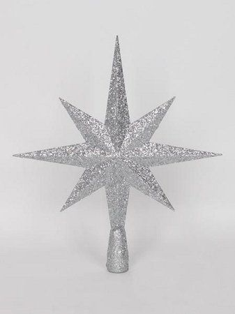 070f1525576c Queens of Christmas WLTOPPER16SLV Star Tree Topper Ornament 16 Silver **  This is an Amazon Affiliate link. Details can be found by clicking on the  image.