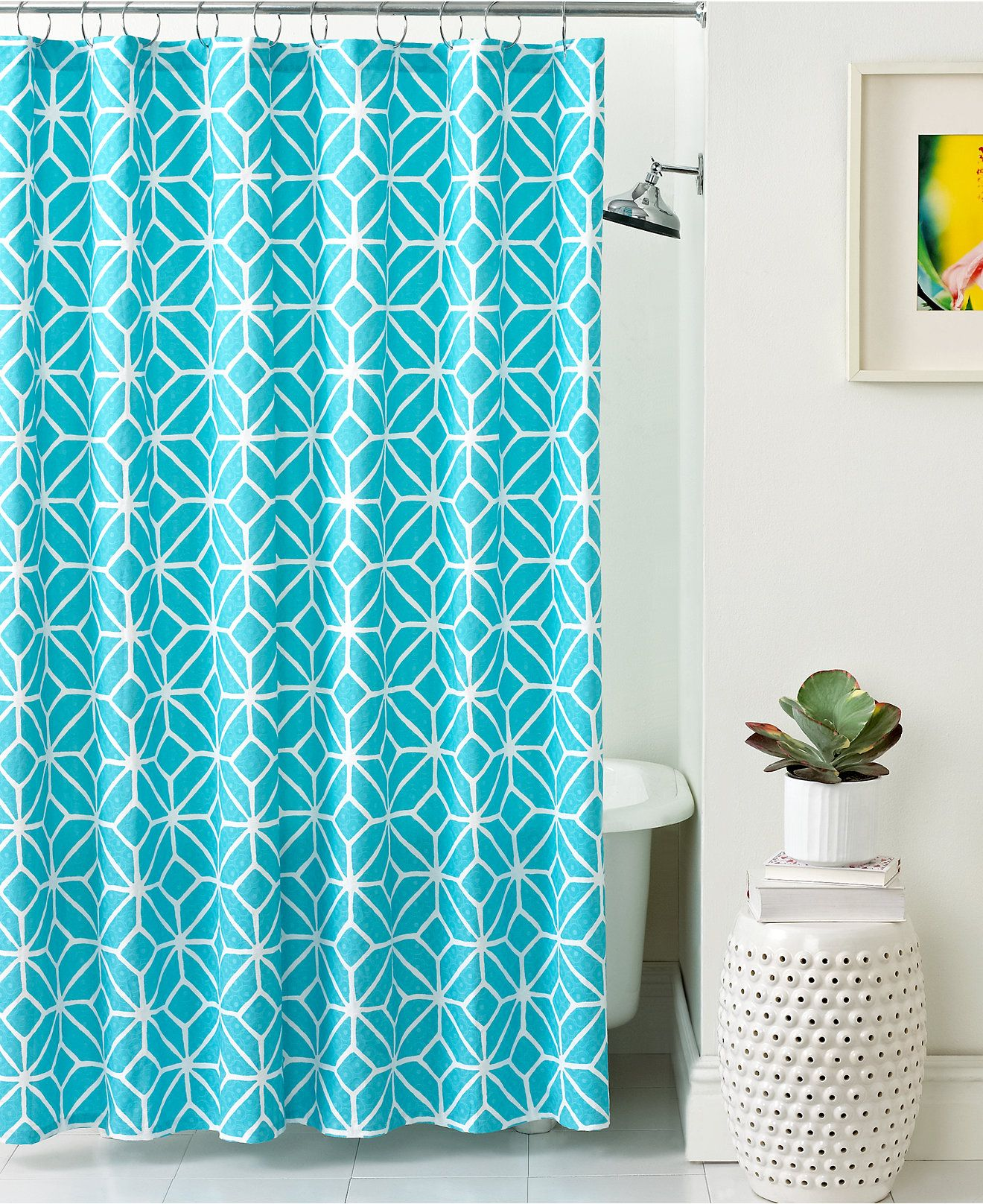 Trina Turk Bath Trellis Shower Curtain Shower Curtains