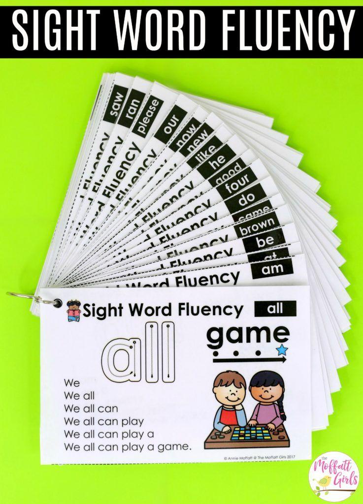 How to Build Sight Word Fluency | Kind, Schulanfang und Kinder garten