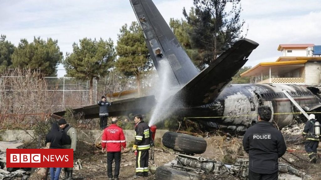 Boeing 707 crashes into Iran home in 2019 | Breaking News