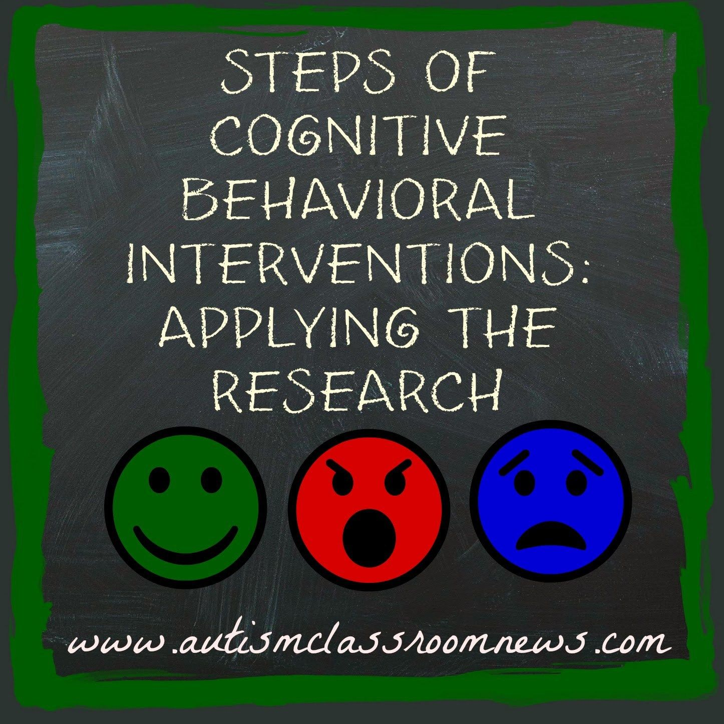 Components Of Cognitive Behavioral Interventions Applying The Research