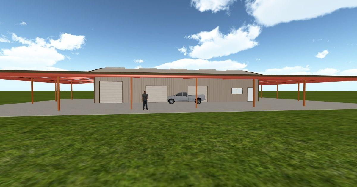 Cool 3D #marketing http://ift.tt/2pG8cqD #barn #workshop #greenhouse #garage #roofing #DIY