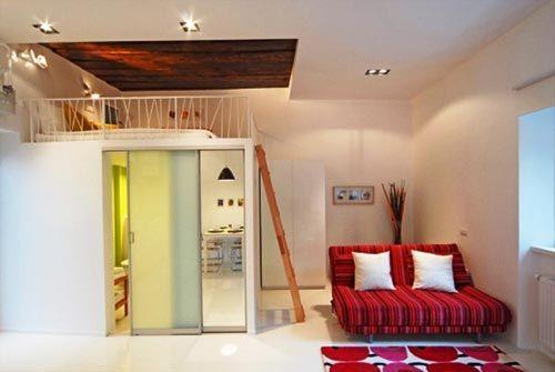 Woonkamer en slaapkamer in één! | kamer ideeën Robert | Pinterest ...