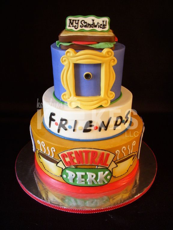 friends tv show cake my favorite cakes iced in buttercream on birthday cakes for friends pics