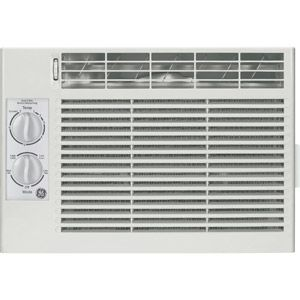 General Electric Aet05ls 5 050 Btu Window Air Conditioner White Compact Air Conditioner
