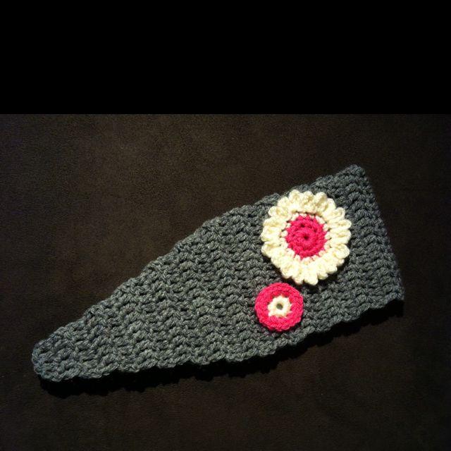 Crochet ear warmer   crochet   Pinterest   Tejidos bebe, Gorros y Tejido