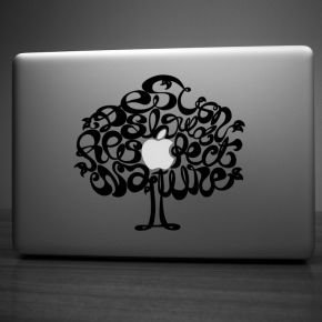 Design for Nature laptop sticker #sticker #design #style #unique #Hu2 Design #desado.com