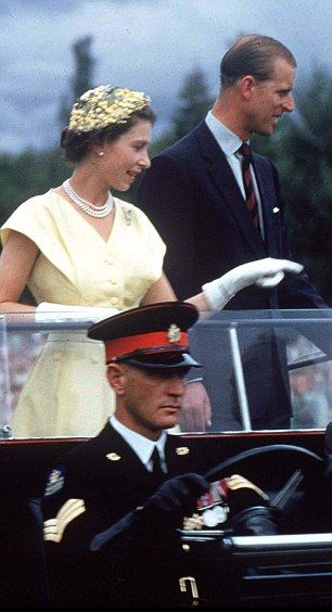 Queen Elizabeth II & Prince Philip, the Duke of Edinburgh in Australia 1954