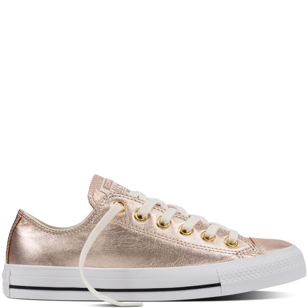 Converse Metallic Star Fr Leather Taylor Chuck h W s All i qXpHZ