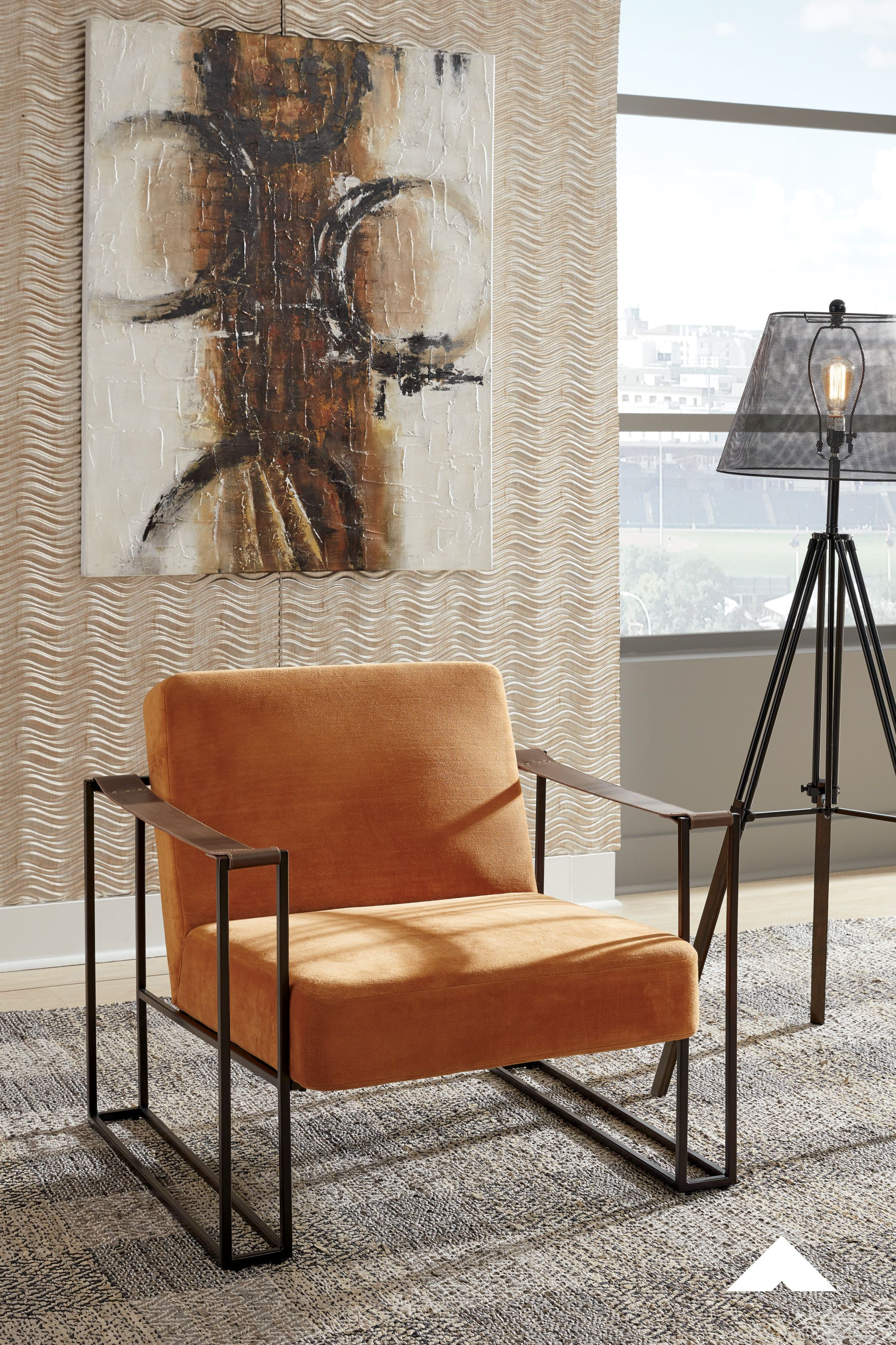 Kleemore Amber Accent Chair By Ashley Furniture Less Is So Much More With This Ultra Cool Accent Chair A Mastery I In 2020 Upholstered Seating Home Ashley Furniture