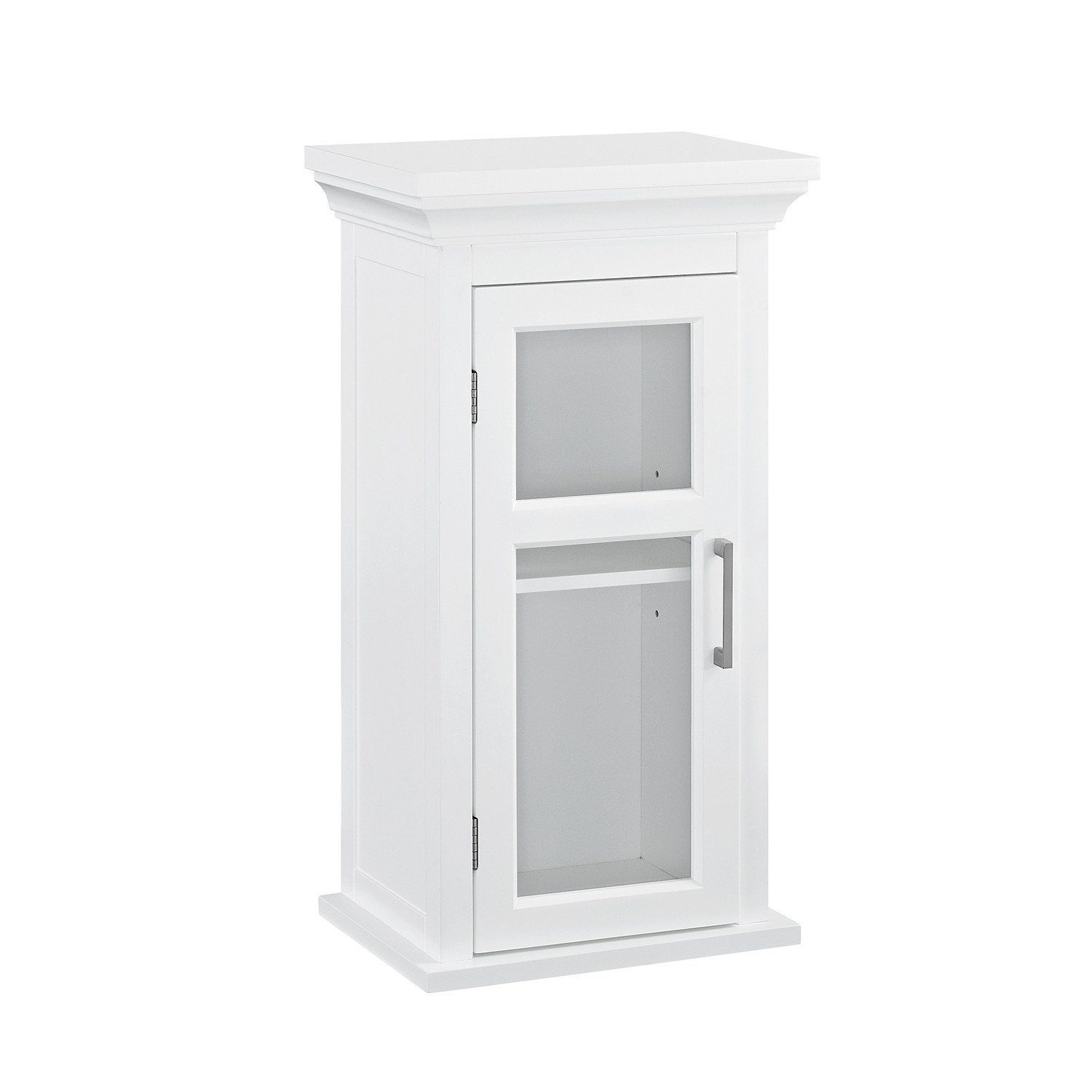 Delicieux Avington 10 X 15 X 27 Inch Single Door Wall Cabinet In White