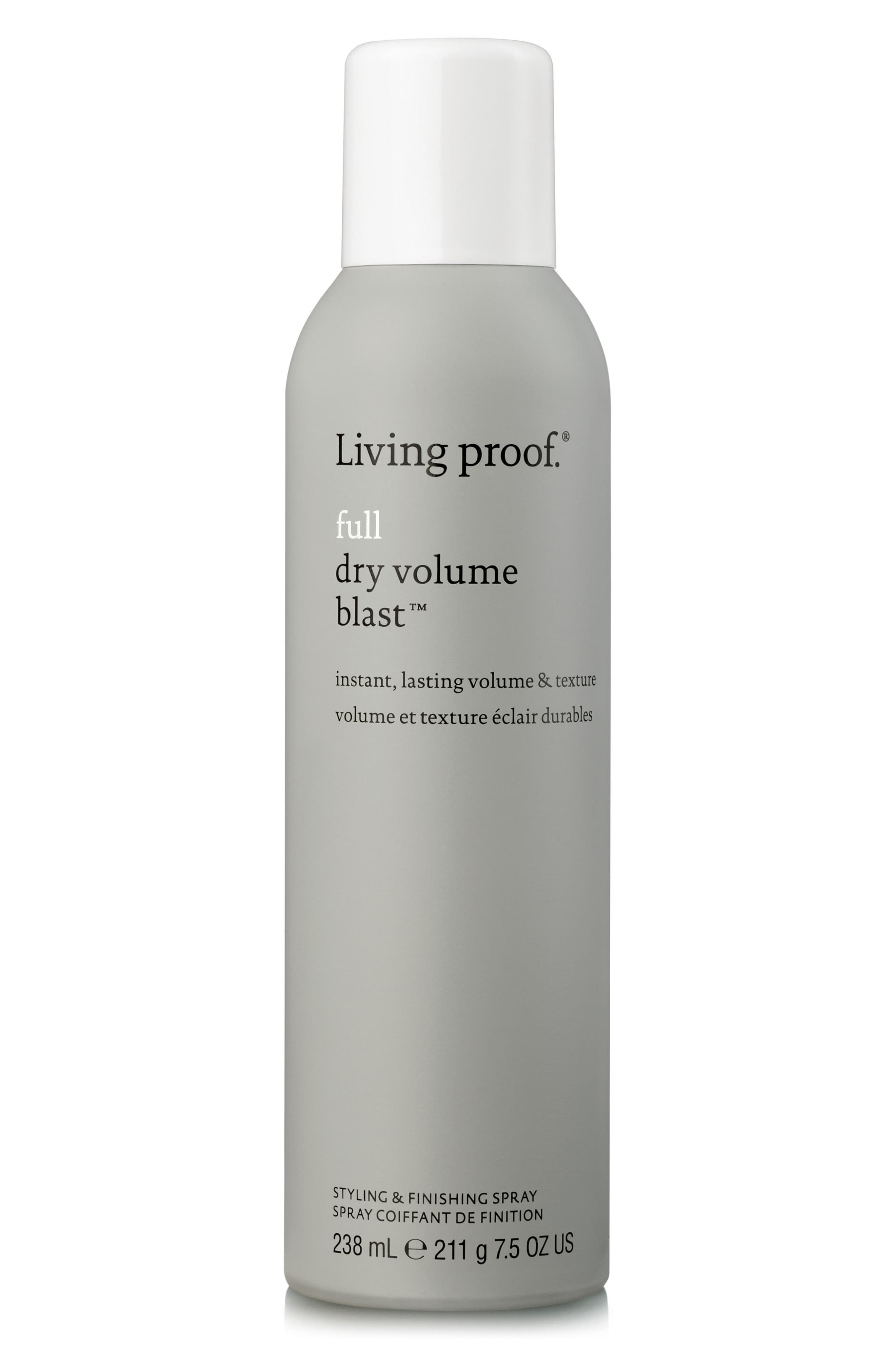 Living Proof Full Dry Volume Blast Nordstrom Living Proof Hair Products Design Essentials Hair Products Flat Hair