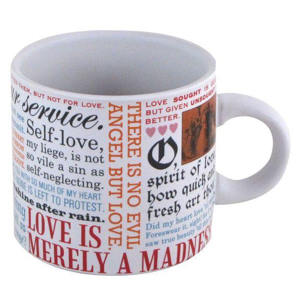 "Shakespeare ""Love"" Mug"