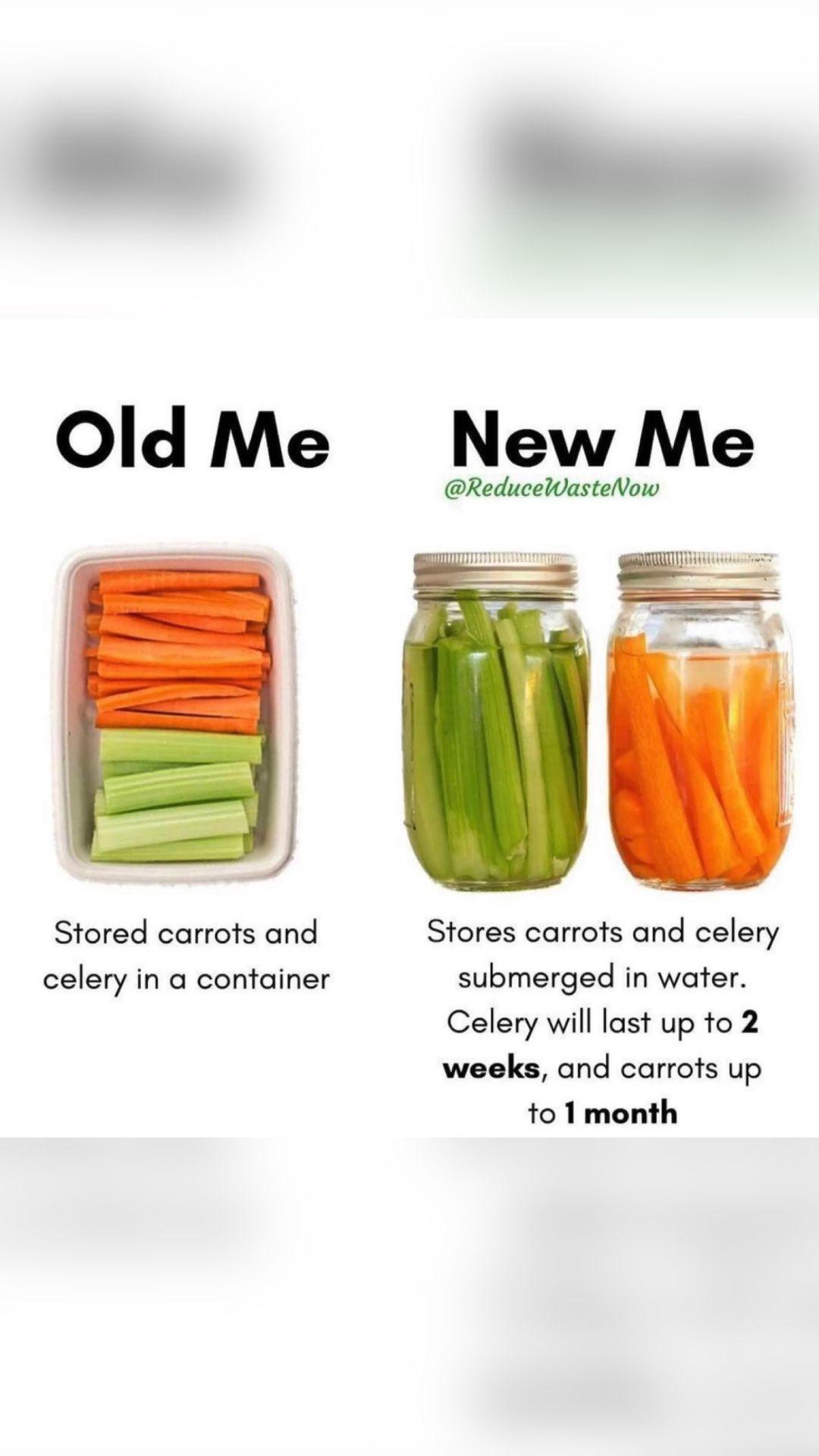 Reduce veggie waste