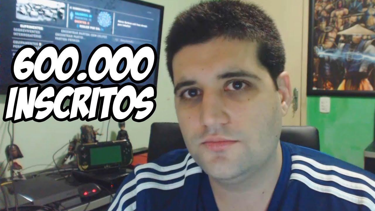 600000 Inscritos Parceria PSN GAMES DF e primeiro video a chegar a 1000000 de visualizações600000inscritos