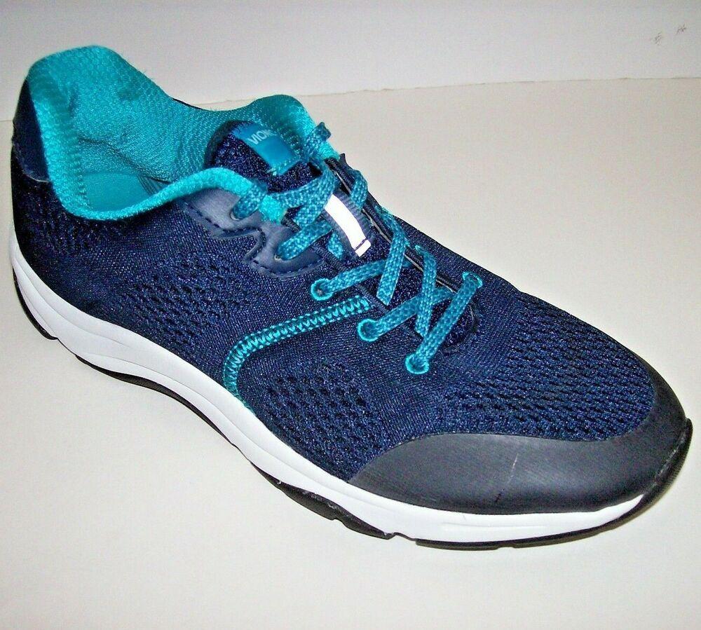 Vionic Womens size 8.5 Shoe Sneaker Running Walking Blue