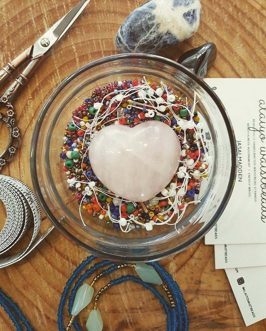 how to make waist beads tighter