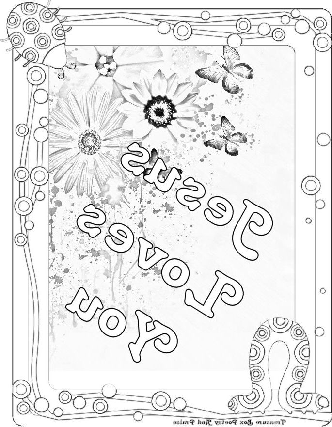 Coolest jesus loves you coloring page - http://coloring.alifiah.biz ...