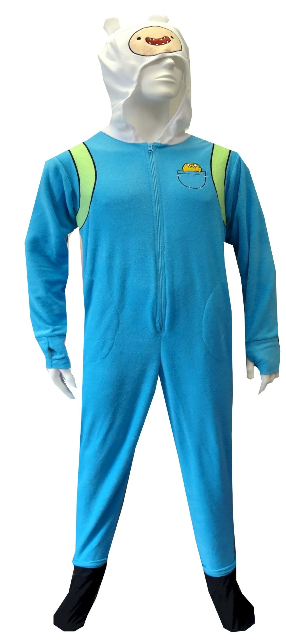 Adventure Time Finn The Human Onesie Footie Pajama Perfect for ...