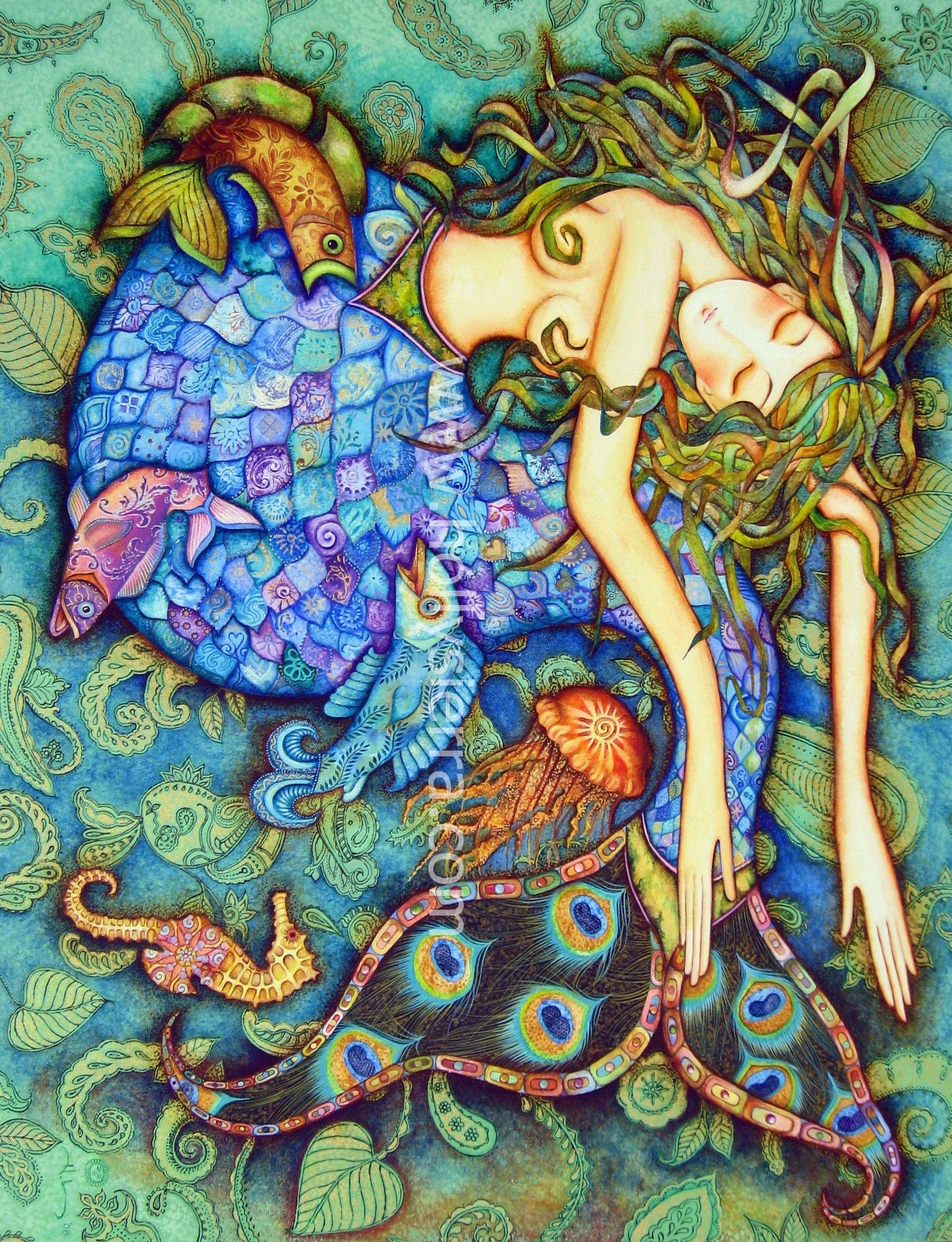 Goddess Paintings  Holly's art