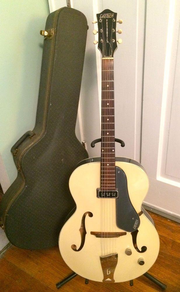 1956 gretsch electromatic 6187 vintage single pickup guitars guitar vintage electric. Black Bedroom Furniture Sets. Home Design Ideas