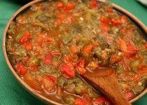 Hmiss, Salade algérienne aux poivrons