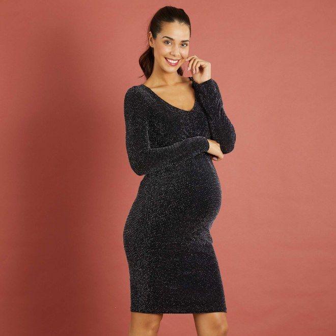 fbab723fcfc 35 robes de soirée pour femme enceinte hyper stylée! 35 robes de fête de  grossesse