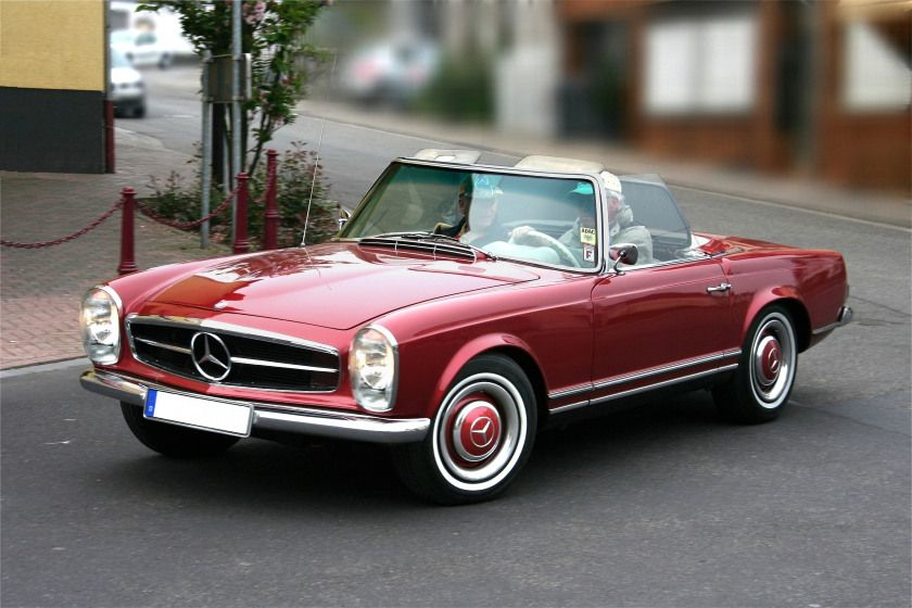 50th Anniversary Of The Mercedes Pagoda Sl Mercedes Benz Classic Classic Mercedes Mercedes 280