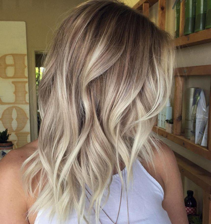 Schulterlange haare blond 2020