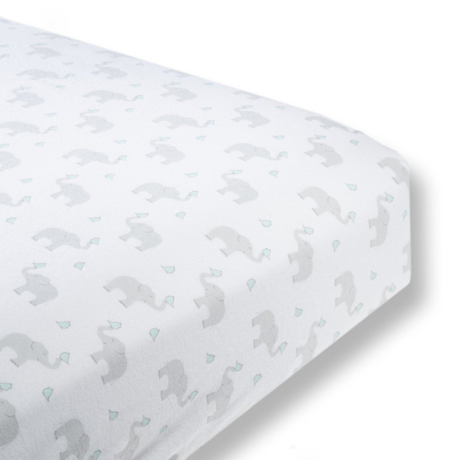 Amazon Com Swaddledesigns Cotton Flannel Fitted Crib