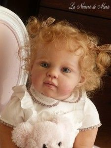 about Precious Resin Reborn Preemie Baby Doll by Jannie De Lange - BRENNA Reborn Baby Girl Doll Prototype Louisa Jannie de Lange Toddler  - She is GORGEOUS! So unbelievably lifelike when you look at all of her pictures. She has 43 bids, 2 hours left and is sitting at $10,228!!!!!Reborn Baby Girl Doll Prototype Louisa Jannie de Lange Toddler  - ...