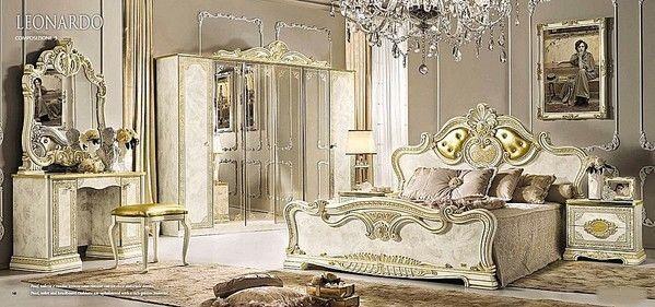 Details zu Neues italienische Luxus Schlafzimmer Leonardo