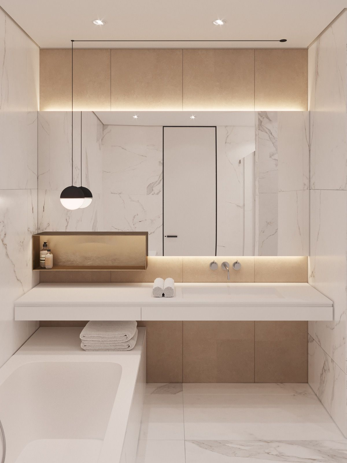 Photo of 51 ideas for a modern bathroom design and tips for customizing your …