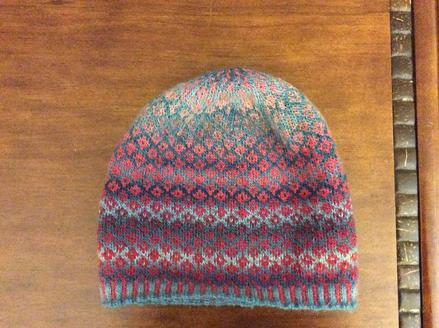 Ravelry: michelleholland13's Fair Isle Hat - 2 colors of Chroma ...