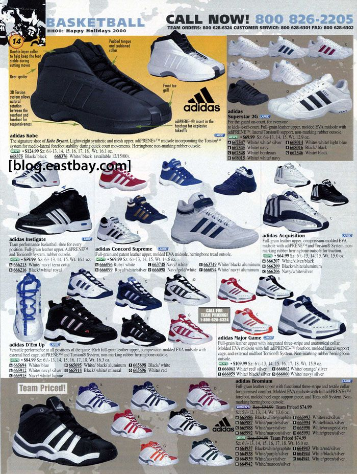 48dd1f484 adidas Kobe Holiday 2000 Tenis Basketball