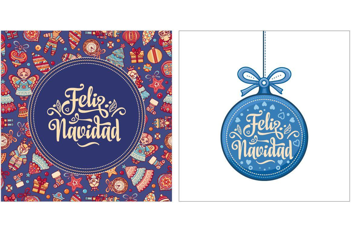 Feliz Navidad. Spanish Christmas (Graphic) by zoyali