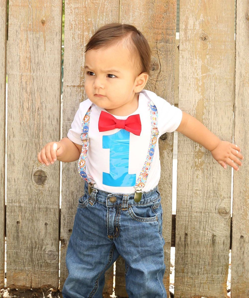 Circus Birthday Outfit Baby Boy