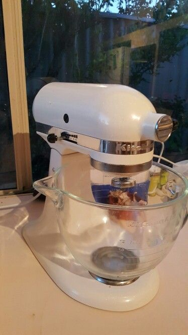 Kitchen aid - few times a week, prefer to display on benchtop